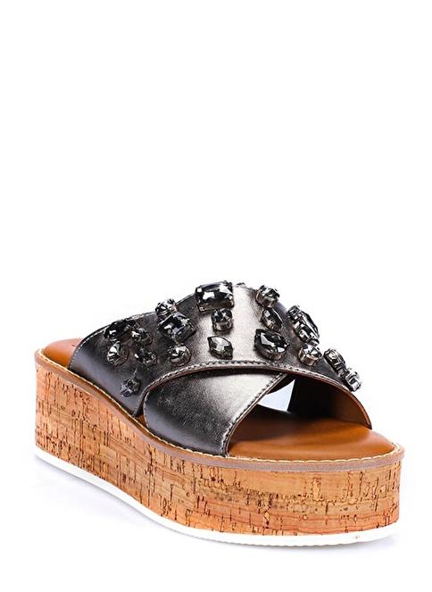 İnci Sandalet Antrasit